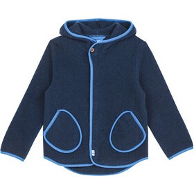 Finkid Jumppa Wool Jacket Kids navy/nautic
